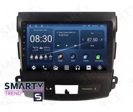 Штатная магнитола Mitsubishi Outlander XL 2005-2012 – Android 10 – SMARTY Trend