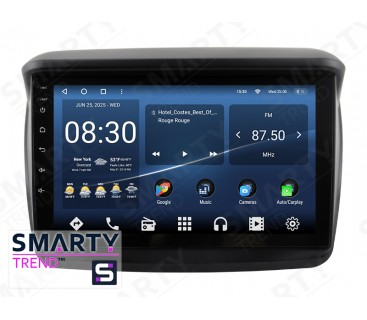 Штатная магнитола Mitsubishi L200 (Low) – Android 10 – SMARTY Trend
