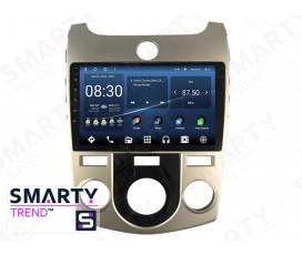Штатная магнитола KIA Cerato / Forte / K3 2009-2012 (Manual Air-Conditioner version) – Android – SMARTY Trend