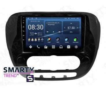 Штатная магнитола KIA Soul 2014 (Auto Air-Conditioner version) – Android 10 – SMARTY Trend