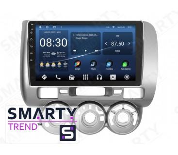 Штатная магнитола Honda Fit 2006-2008 – Android 10 – SMARTY Trend