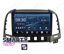Штатная магнитола Hyundai Santa Fe 2006-2012 – Android – SMARTY Trend
