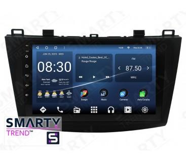 Штатная магнитола Mazda 3 2009-2013 – Android 10 – SMARTY Trend
