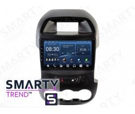 Штатная магнитола Ford Ranger 2011-2014 – Android 10 – SMARTY Trend