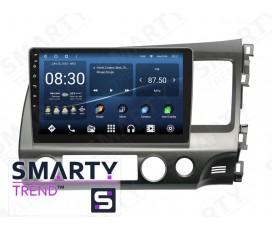 Штатная магнитола Honda CIVIC 4D 2006-2011 RHD – Android – SMARTY Trend