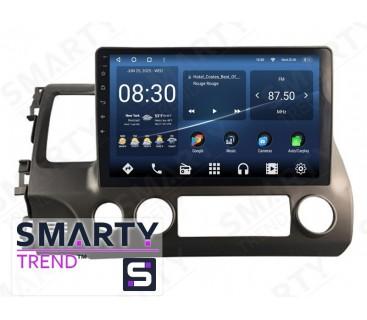 Штатная магнитола Honda CIVIC 4D 2006-2011 – Android 10 – SMARTY Trend