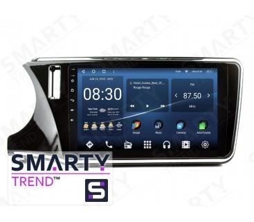 Штатная магнитола Honda City 2014 – Android 10 – SMARTY Trend