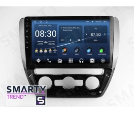 Штатная магнитола Volkswagen Jetta 2011-2015 (Manual Air-Conditioner version) – Android – SMARTY Trend