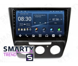 Штатная магнитола Skoda Yeti 2014-2017 (Manual Air-Conditioner version) – Android – SMARTY Trend