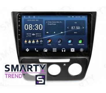 Штатная магнитола Skoda Yeti 2014-2017 (Manual Air-Conditioner version) – Android 10 – SMARTY Trend