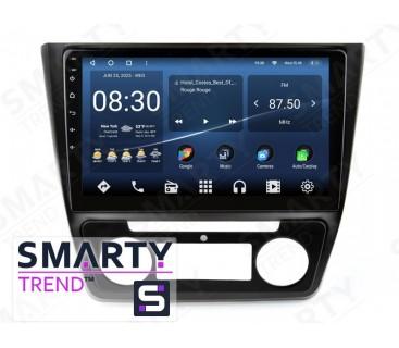 Штатная магнитола Skoda Yeti 2014-2017 (Auto Air-Conditioner version Максимальная комплектация) – Android 10 – SMARTY Trend