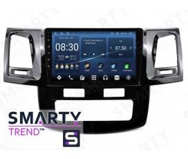 Штатная магнитола Toyota Hilux 2012 (Auto Air-Conditioner version) – Android – SMARTY Trend