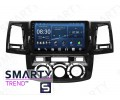 Штатная магнитола Toyota Hilux 2012 (Manual Air-Conditioner version) – Android – SMARTY Trend
