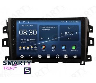 Штатная магнитола Nissan Navara NP300 (Low) – Android 10 – SMARTY Trend