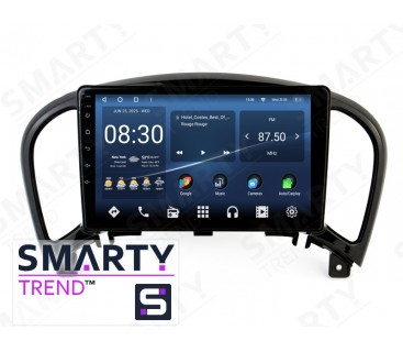 Штатная магнитола Nissan Juke 2010-2014 (Low) – Android 10 – SMARTY Trend