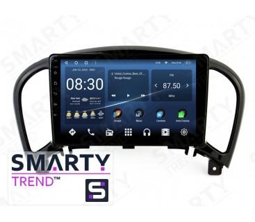 Штатная магнитола Nissan Juke 2010-2014 (High) – Android 10 – SMARTY Trend