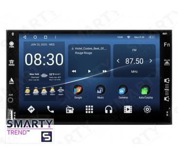 Универсальная магнитола 2 DIN – Android 10 – SMARTY Trend