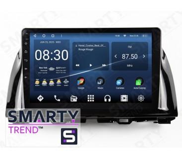 Штатная магнитола Mazda CX-5 2013-2014 (Low) – Android 10 – SMARTY Trend