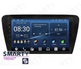 Штатная магнитола Skoda Octavia A7 – Android – SMARTY Trend