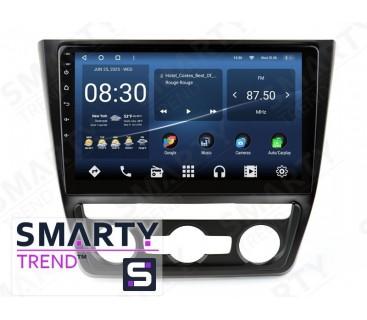 Штатная магнитола Skoda Yeti 2014-2017 (Auto Air-Conditioner version) – Android – SMARTY Trend