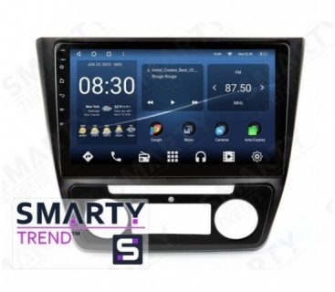Штатная магнитола Skoda Yeti 2014-2017 (Auto Air-Conditioner version Максимальная комплектация) – Android – SMARTY Trend