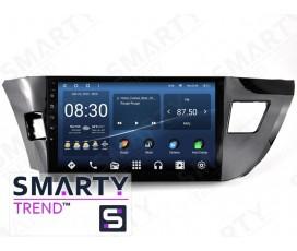 Штатная магнитола Toyota Corolla 2013-2016 – Android – SMARTY Trend