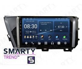 Штатная магнитола Toyota Camry XV70 2018+ (Low) – Android – SMARTY Trend