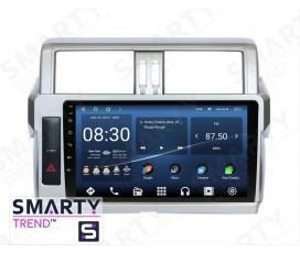 Штатная магнитола Toyota Land Cruiser Prado 150 2014-2017 – Android – SMARTY Trend