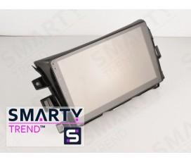 Штатная магнитола Nissan Navara NP300 (High) – Android – SMARTY Trend