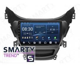 Штатная магнитола Hyundai Elantra 2010-2013 – Android – SMARTY Trend