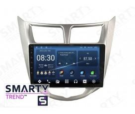 Штатная магнитола Hyundai Accent / Solaris / Verna – Android – SMARTY Trend