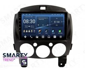 Штатная магнитола Mazda 2 2010-2012 – Android – SMARTY Trend