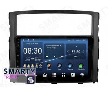 Штатная магнитола Mitsubishi Pajero – Android – SMARTY Trend