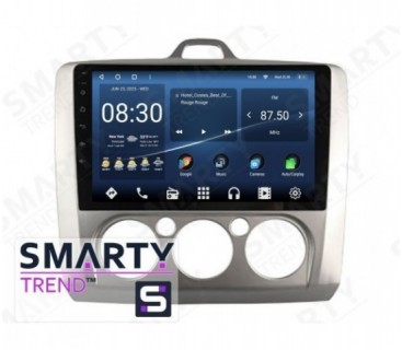 Штатная магнитола Ford Focus II 2009-2011 (Manual-Aircondition) – Android – SMARTY Trend