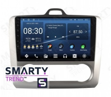 Штатная магнитола Ford Focus II 2009-2011 (Auto-Aircondition) – Android – SMARTY Trend