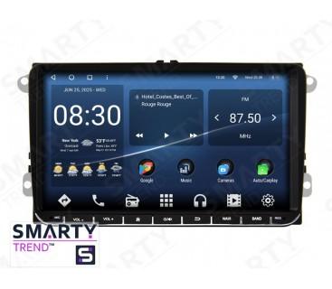 Универсальная магнитола Volkswagen / Skoda / Fiat / Seat– Android 10 – SMARTY Trend