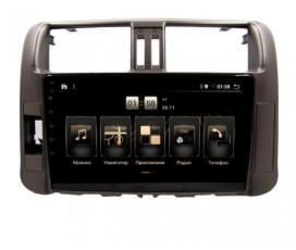 Штатная магнитола Toyota Land Cruiser Prado 150 2009-2013 - Android 10 - KLYDE