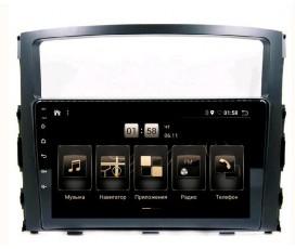 Штатная магнитола Mitsubishi Pajero  - Android 10 - KLYDE