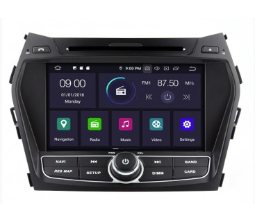 Штатная магнитола Hyundai Santa Fe IX45 2012-2016 - Android - KLYDE