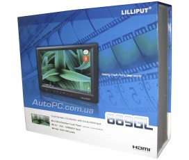 Lilliput 669GL-70NP/C/T - сенсорный VGA, DVI, HDMI монитор 7-дюймов