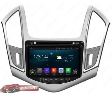Штатная магнитола Chevrolet Cruze 2013-2014 - Android 4.4.4 - KLYDE