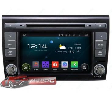 Штатная магнитола Fiat Bravo 2007-2014 - Android 4.4.4 - KLYDE