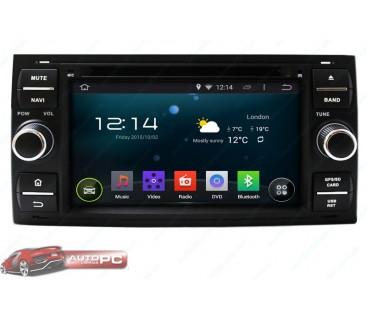 Штатная магнитола Ford C-Max 2002-2010 - Android 4.4.4 - KLYDE