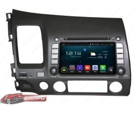 Штатная магнитола Honda CIVIC 4D 2006-2011 - Android 5.1.1 - KLYDE