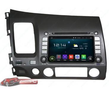 Штатная магнитола Honda CIVIC 4D 2006-2011 - Android 4.4.4 - KLYDE