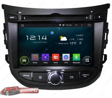Штатная магнитола Hyundai (HB 20) 2013 - Android 4.4.4 - KLYDE