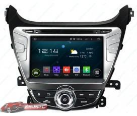 Штатная магнитола Hyundai Elantra 2010-2013 - Android 5.1.1 - KLYDE