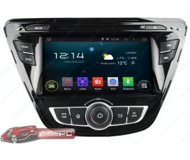 Штатная магнитола Hyundai Elantra 2013-2016 - Android 5.1.1 - KLYDE