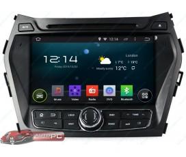 Штатная магнитола Hyundai Santa Fe IX45 2012-2016 - Android 5.1.1 - KLYDE