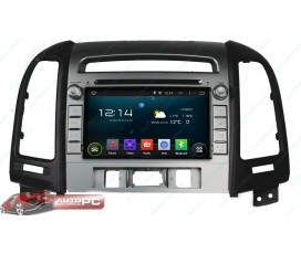 Штатная магнитола Hyundai Santa Fe 2006-2012 - Android 5.1.1 - KLYDE